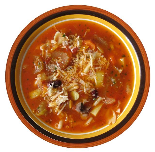 супы и закуски при щелочной диете